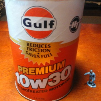 Gulf 1 Litre Oil Can