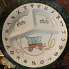Pioneer / Cowboy Themed Dinner Plates