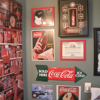 some of my collection - Coca-Cola