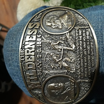 Limited edition Civil WarBelt buckles 1991 - Accessories