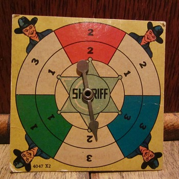 Hopalong Cassidy Sheriff game part - Games