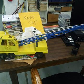 1960's crane - Model Cars