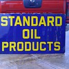 Standard Oil Products porcelain sign