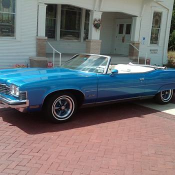 1973 Pontiac Grand Ville Convertible - Classic Cars