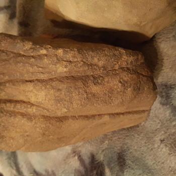 Native American abrading stone art works - Native American