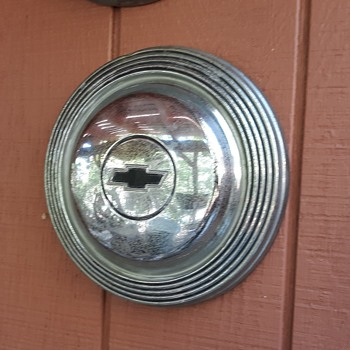 1965 Chevrolet Hubcap For Impala Bel Air and Biscayne and Dog Dish - Classic Cars