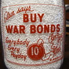 "BORDENS ""ELSIE THE COW"" WAR SLOGAN MILK BOTTLE..........."