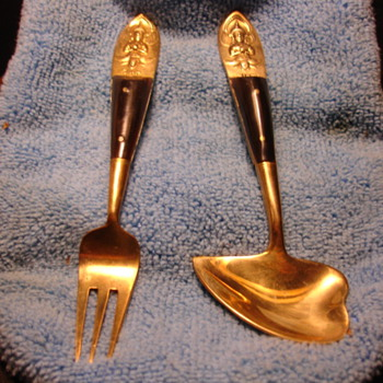 """""""SIAM"""" FORK AND STRANGE SPOON - Asian"""