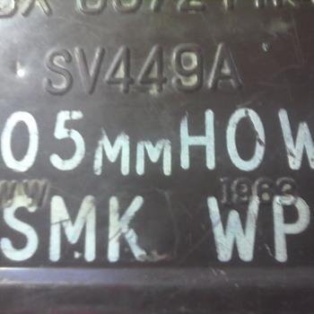 105mm Howitzer Artillery Case