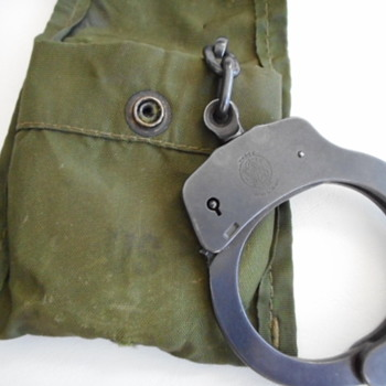 S&W Military Handcuffs - Military and Wartime