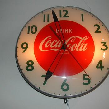 50's Coca-Cola Wall Clock by Swihart