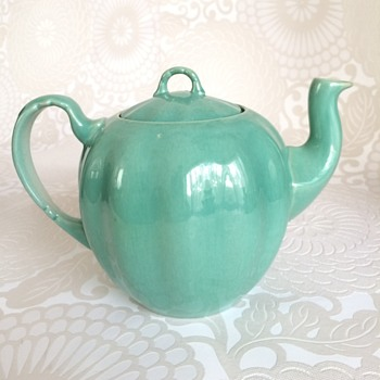 Teapot double circle floral mark - China and Dinnerware