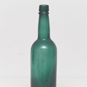 Beer Bottle (Frederiksberg Glassworks, Denmark), ca. 1900