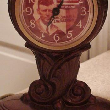 Lindbergh Lamp/Clock Works