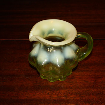 Little creamer depression glass? - Glassware