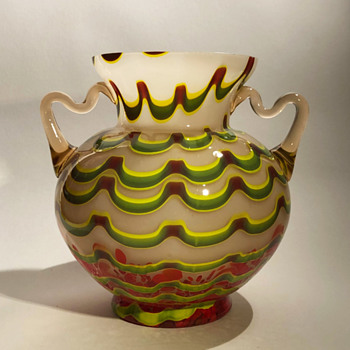 Kralik Wave Vase - Art Deco