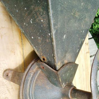 Unknown cast iron coffee mill/grinder