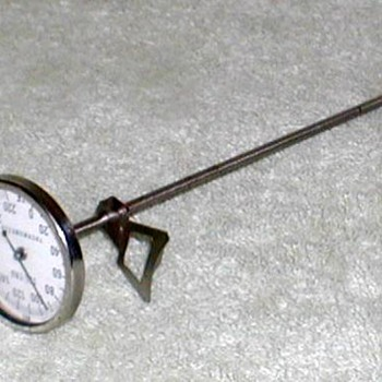Vintage TEL-TRU Thermometer - Tools and Hardware
