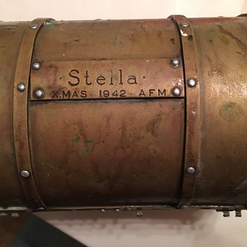 Brass Antique Box - Military and Wartime