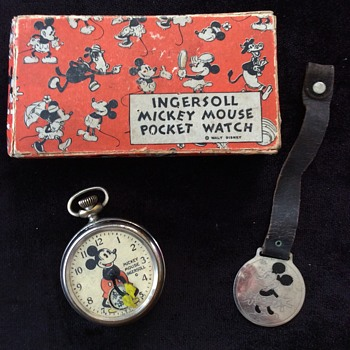 My first American Mickey Pocket Watch - Wristwatches