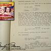 Marilyn Monroe's Personal Script