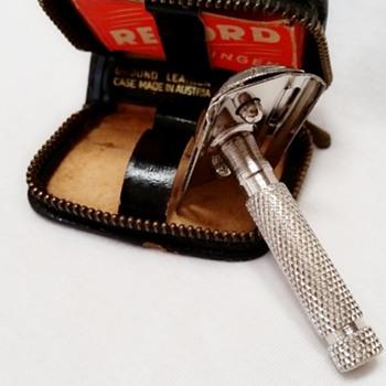 Solingen Germany Travel Safety Razor, Original Leather Case - Accessories