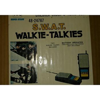 tv show swat walkie talkies - Toys
