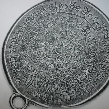 Hieroglyphics on a pendant???? - Costume Jewelry