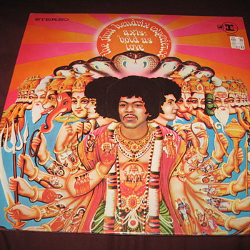 "Jimi Hendrix ""Axis: Bold as Love"" Vinyl in shrink wrap - Records"