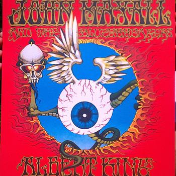 BG-105, Jimi Hendrix poster by Rick Griffin - Music Memorabilia