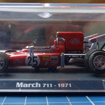 F1 STP March 711 die-cast  - Model Cars