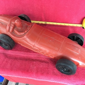"Vintage 23"" Marx Plastic Race Car - Model Cars"