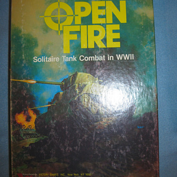 "Game Module ""Open Fire"", WWII RPG - Games"