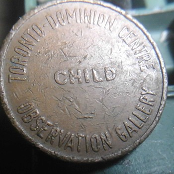 Toronto Dominion Center Observatory Gallery Token
