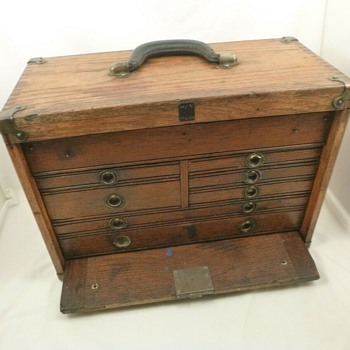 Antique And Vintage Tool Boxes Collectors Weekly
