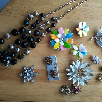 Rummage sale finds - Costume Jewelry