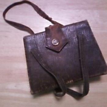 antique purse or, make up travel bag