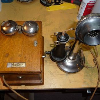 Western Electric 20-H (Frankenstein)  - Telephones
