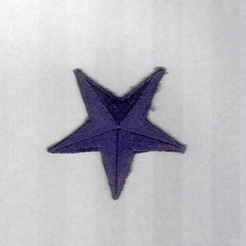 Unknown Star Shoulder Patch - Military and Wartime