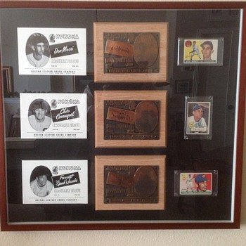 Nokona Baseball box print plates - Baseball