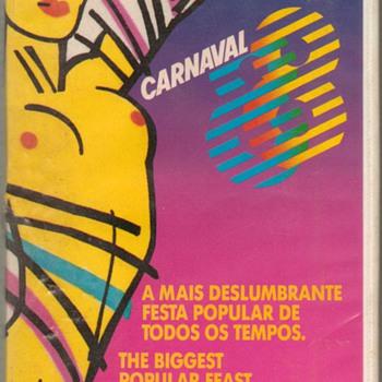 "1988 - ""Carnaval '88"" Brazil - VHS Tape - Electronics"