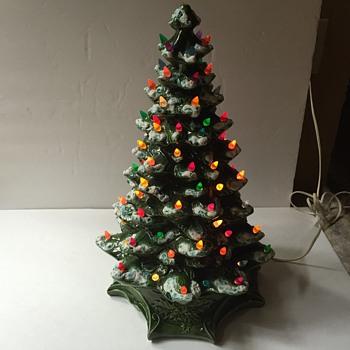 Ceramic Christmas tree  - Pottery