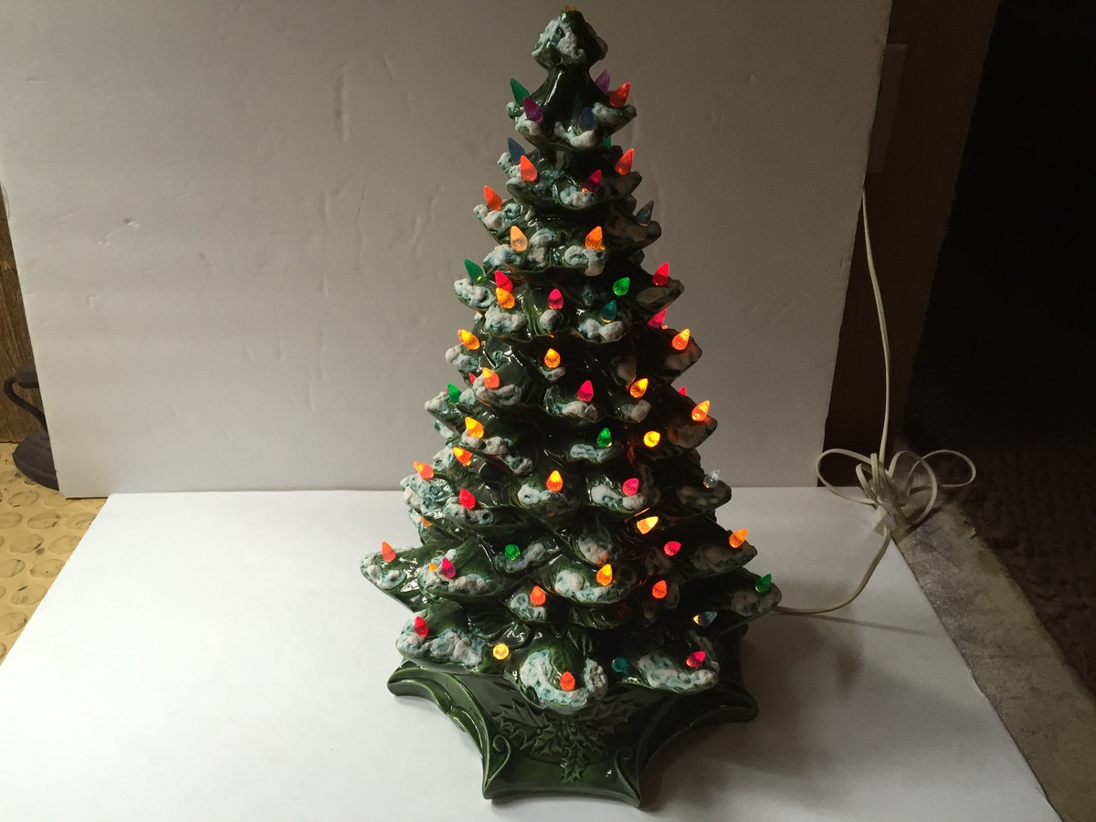 Ceramic Christmas Tree Collectors Weekly
