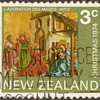 "1974 - New Zealand ""Christmas"" Postage Stamp"