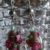 Murano bead earrings?