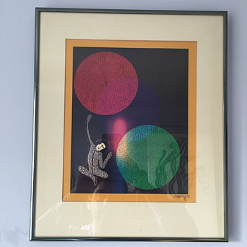 Art work from the 1981. - Fine Art