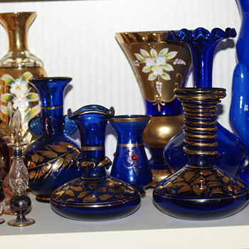 New Addition to my Blue Glass Collection - Glassware