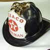Black Texaco Firemans Hat