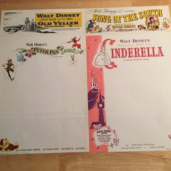Disney Studios Stationery