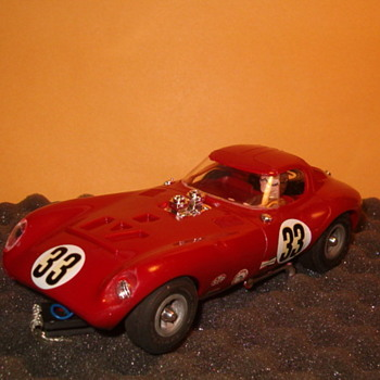 1/24TH COX CHEETAH IN RED